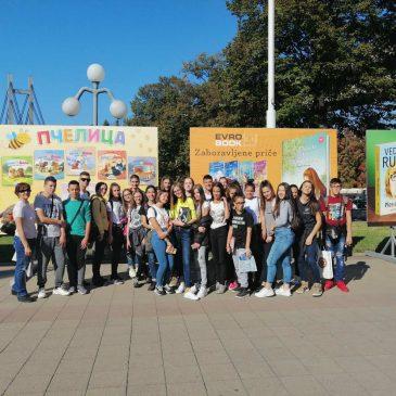Ученици наше школе на Сајму књига у Београду